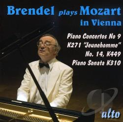 Brendel / Janigro / Mozart - Brendel Plays Mozart in Vienna CD Cover Art