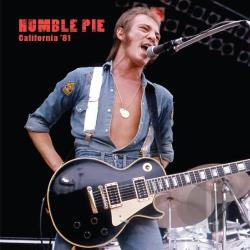 Humble Pie - California '81 LP Cover Art