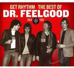 Dr. Feelgood - Get Rhythm: The Best of Dr. Feelgood 1984-1987 CD Cover Art