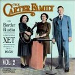 Carter Family - On Border Radio, Vol. 2: 1939 CD Cover Art