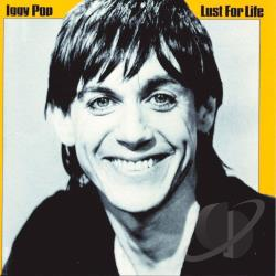 Pop, Iggy - Lust for Life CD Cover Art