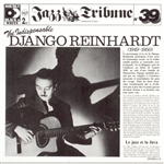 Reinhardt, Django - Jazz Tribute No. 39: The Indispensable Django Reinhardt, 1949-1950 CD Cover Art