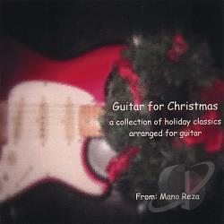 Reza, Mano - Guitar For Christmas CD Cover Art