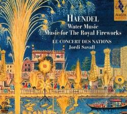 Handel / Le Concert Des Nations / Savall - Handel: Water Music; Music for the Royal Fireworks CD Cover Art