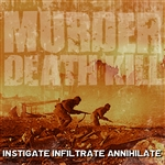Murder Death Kill - Investigate, Infiltrate, Annihilate CD Cover Art