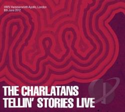 Charlatans - Tellin Stories Live CD Cover Art