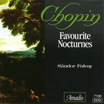 Chopin / Falvay - Chopin: Favorite Nocturnes CD Cover Art