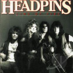 Headpins - Line of Fire CD Cover Art
