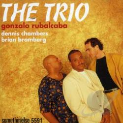 Rubalcaba, Gonzalo - Trio CD Cover Art