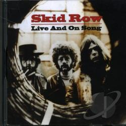 Skid Row - Live and on Song CD Cover Art