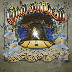 Grateful Dead - Crimson, White & Indigo: Philadelphia, July 7, 1989 CD Cover Art
