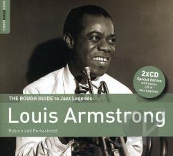 Armstrong, Louis - Rough Guide To Jazz Legends: Louis Armstrong CD Cover Art
