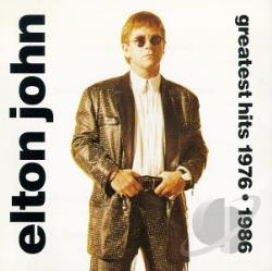 John, Elton - Greatest Hits CD Cover Art