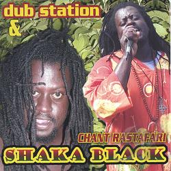 Dub Station & Shaka Black - Chant Rastafari CD Cover Art