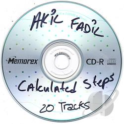 Fadil, Akil - Calculated Steps CD Cover Art