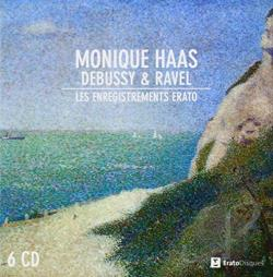 Debussy / Haas / Ravel - Monique Haas Plays Debussy & Ravel CD Cover Art