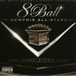 Eightball - Memphis All Stars CD Cover Art