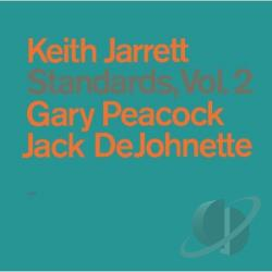 Jarrett, Keith - Standards, Vol. 2 CD Cover Art