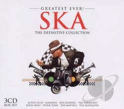Greatest Ever Ska CD Cover Art