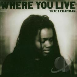Chapman, Tracy - Where You Live CD Cover Art