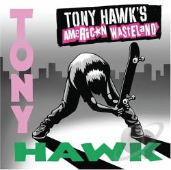 Tony Hawk's American Wasteland CD Cover Art