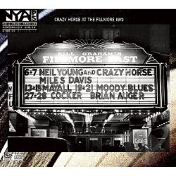 Neil Young & Crazy Horse / Young, Neil - Live at the Fillmore East CD Cover Art