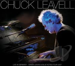 Leavell, Chuck - Live in Germany: Green Leaves & Blue Note CD Cover Art