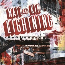 Matt & Kim - Lightning CD Cover Art