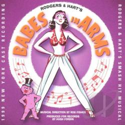 Babes In Arms - Cast Recording CD Cover Art