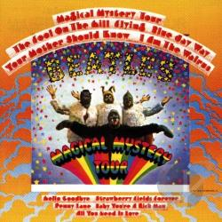 Beatles - Magical Mystery Tour CD Cover Art