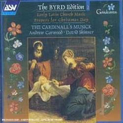 Byrd / Carwood - Byrd Edition, Vol. 2: Early Latin Church Music - Propers for Christmas Day CD Cover Art