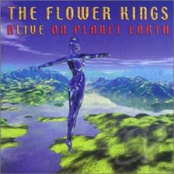 Flower Kings - Alive on Planet Earth CD Cover Art