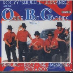 Hernandez, Rocky Shuffle and the Oldies But Goodies Band - Bringing Back The Memories 50's & 60's CD Cover Art
