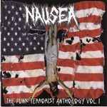 Nausea - Punk Terrorist Anthology, Vol. 1 CD Cover Art