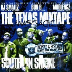 Bun B / DJ Smallz / Fngz, Mddl - Southern Smoke, Vol. 17: The Texas Mixtape Massacre CD Cover Art