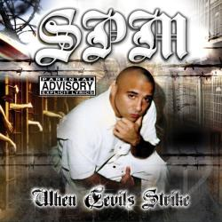 South Park Mexican - When Devils Strike CD Cover Art