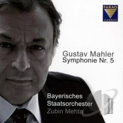Bayerishes Staatsorchester / Mahler / Mehta - Symphony No. 5 In C Sharp Minor CD Cover Art