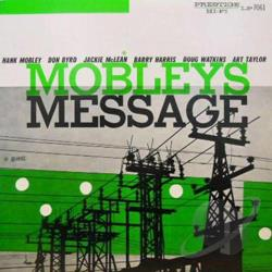 Mobley, Hank - Mobley's Message LP Cover Art