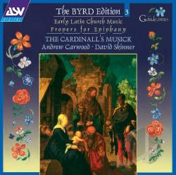 Byrd / Carwood - Byrd Edition, Vol. 3: Early Latin Church Music CD Cover Art