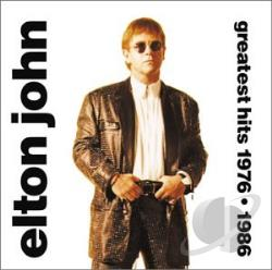 John, Elton - Greatest Hits 1976-1986 CD Cover Art