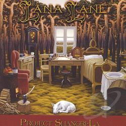 Lane, Lana - Project Shangri-La CD Cover Art