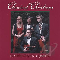 Lumiere String Quartet - Classical Christmas CD Cover Art