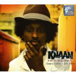 K'naan - Troubadour: Champion Edition: Asian Version CD Cover Art
