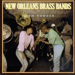 New Orleans Brass Bands: Down Yonder CD Cover Art