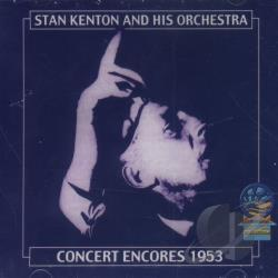 Kenton, Stan - Concerts Encores 1953 CD Cover Art