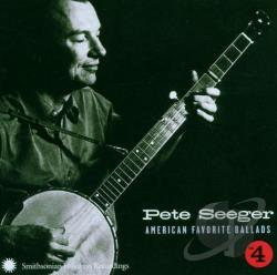 Seeger, Pete - American Favorite Ballads, Vol. 4 CD Cover Art