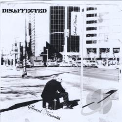 Disaffected - Social Necrosis CD Cover Art