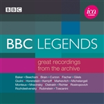 Gilels / Horenstein / Mravinsky / Toscanini - BBC Legends: Great Recordings from the Archive CD Cover Art