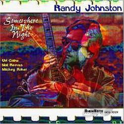 Johnston, Randy - Somewhere in the Night CD Cover Art