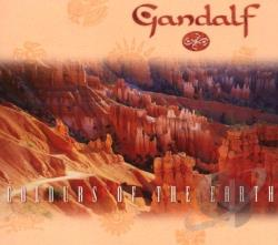Gandalf - Colours of the Earth CD Cover Art